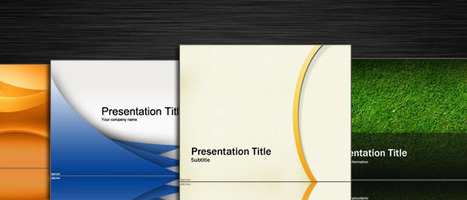2010+ Free Powerpoint Templates PPT and Free PowerPoint Backgrounds | Moodle and Web 2.0 | Scoop.it