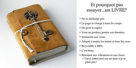 Un support de lecture à redécouvrir: le lIVRE - The Resonance Project - Traduction Française | Facebook | The Resonance Project - Traduction Française | Scoop.it