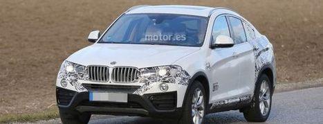 Fotos espía BMW X4 casi al descubierto - Motor.es   Autos   Scoop.it