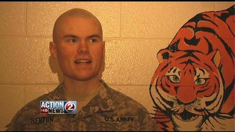 Local Soldier Dresses as Mascot to Surprise Family | Best Mascots | Scoop.it