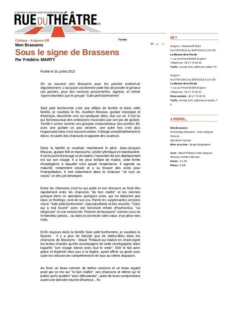 SalePetitBonhomme | Georges Brassens | Scoop.it
