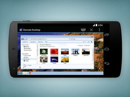 Android : une application pour accéder à votre PC - Tom's Guide | INFORMATIQUE 2014 | Scoop.it