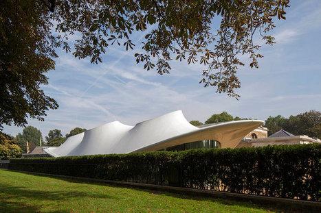 serpentine sackler gallery by zaha hadid opens - designboom | architecture & design magazine | Architecture and Architectural Jobs | Scoop.it