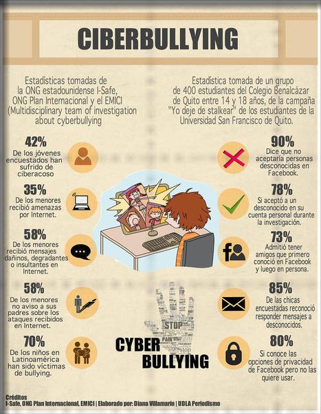 Cyberbullying #infografia #infographic #education | mariolarhdez | Scoop.it
