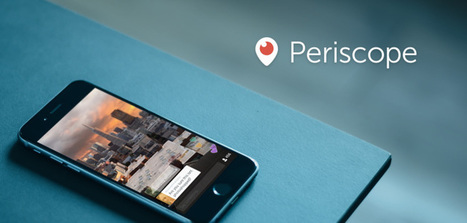 Periscope Turns Screenshotting Into A Social Experience | edanne | Scoop.it