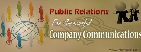 Public Relations For Successful Company Communications | 25 Ways for Branding Your Company & To Increase Your Name Recognition | Scoop.it