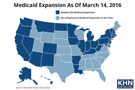 Study: Medicaid Expansion Encourages More Poor Adults To Get Health Care | Healthy Vision 2020 | Scoop.it