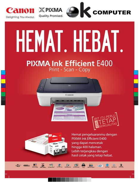 Printer Canon E400 Catridge Murah Print scan copy | TOKO KOMPUTER ONLINE DIMEDAN | Scoop.it
