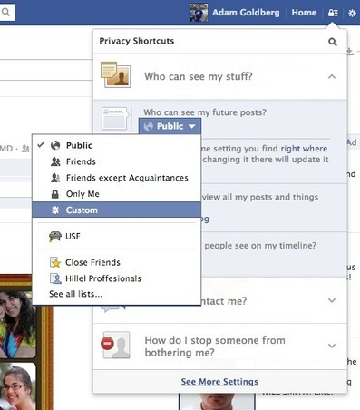 New Facebook Privacy Settings Easily Explained | Social Media Today | Facebook & Company | Scoop.it