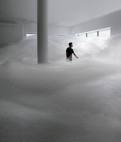 A Tornado with 2 milion Straws par Tokujin Yoshioka - Journal du Design | Votre branding en IRL | Scoop.it