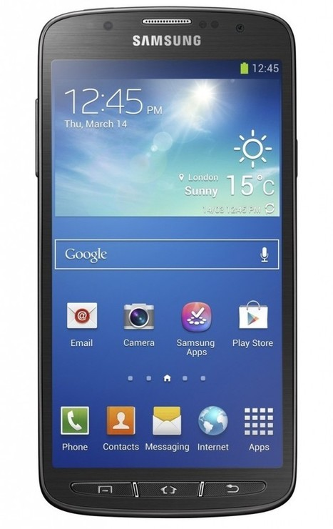 Galaxy S4 Active announce officially by SAMSUNG | New Cell Phones Prices | Scoop.it
