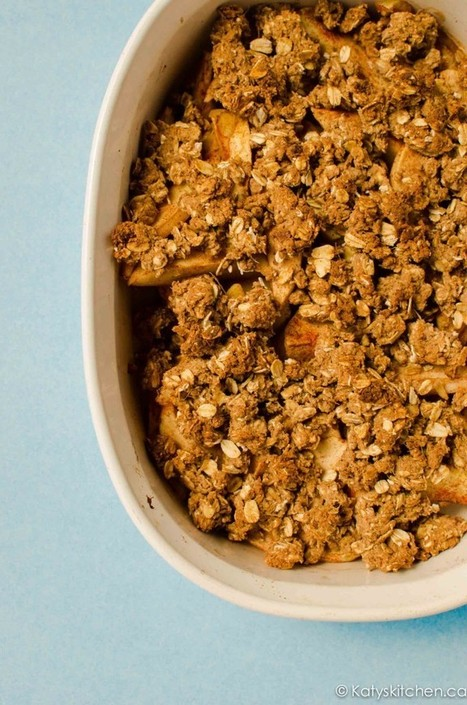 Wholesome Apple Crisp - Katy's Kitchen | Healthy Living - Recipes, exercise and more... | Scoop.it