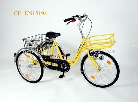 #Bicycle #3 #Wheel http://www.china-electricbikes.com/key-bicycle-3-wheel-18 | 3 wheel tricycle | Scoop.it