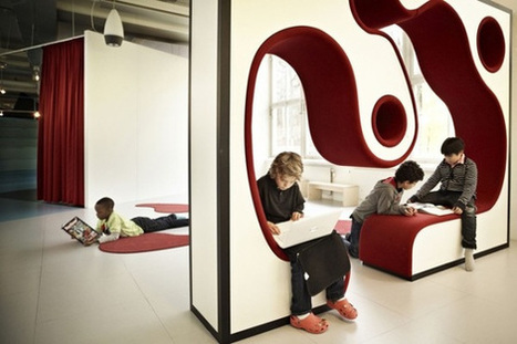 Modern School Interior | education design | Scoop.it