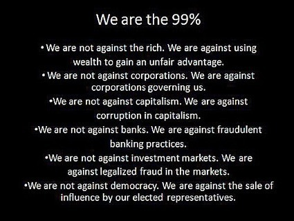 6 Cut-Through-The-Bullsh_t Reasons To Support The 99% | Wings and Weights | Scoop.it