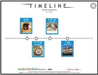 ICT-idee: 220. Timeline: Plan activiteiten door ze op een tijdlijn te plaatsen. | Education | Scoop.it