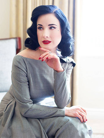 Dita Von Teese Shares Some of Her Beauty Secrets | Glam Mag | Scoop.it