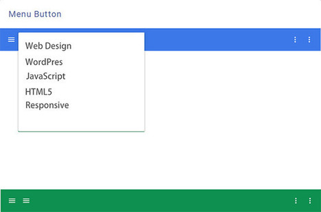 Exploring Material Design: A New UI Design Concept by Google | UX-UI design | Scoop.it