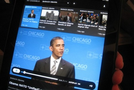 Build Your Custom TV News Channel With The Newslook iPad App | Creativity as changing tool | Scoop.it