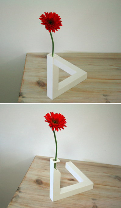 Impossible Geometry: Triangle Vase Not an Optical Illusion ... - Dornob | Pre-AP Geometry | Scoop.it