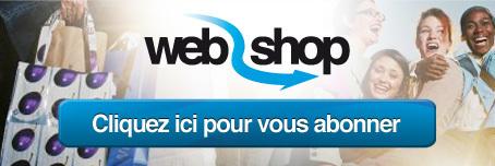 Inscrivez-vous à la newsletter hebdomadaire du Web2Shop | FS Social Network | Scoop.it