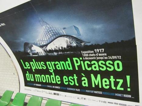 La nouvelle campagne du Centre Pompidou Metz | Buzzeum | Scoop.it