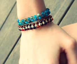 Quiet Lion Creations: Chan Luu Single Wrap Macrame Bracelet | DIY - jewellery  =  HTM - bijou | Scoop.it