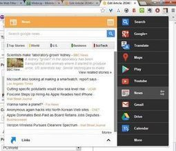 Black Menu for Chrome puts all your Google services a click away | PCWorld | Social Network tools | Scoop.it