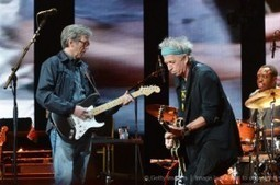 Keith Richards junto a Eric Clapton en el Crossroads Guitar Festival | Actualitat Musica | Scoop.it