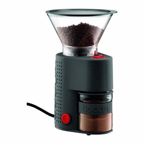 Bodum Bistro Electric Burr Coffee Grinder, Black | Best Coffee Makers Reviews | Scoop.it