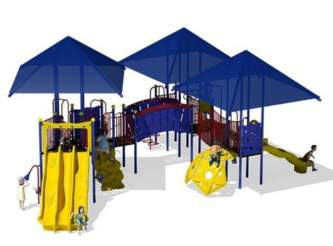 Highland Village - Commercial Playground Equipment - APCPLAY 1-888-401-6446 | APC Play | Scoop.it