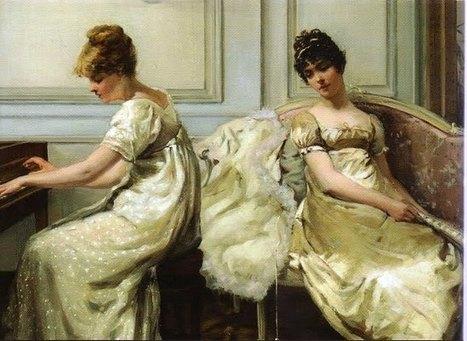 How dresses looked during regency period | Jane Austen's Era Attire | Scoop.it