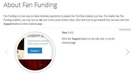 Une chaîne YouTube financée par les dons, ce sera possible | Stratégie d'entreprise | Scoop.it