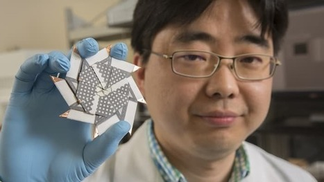 Ninja star design throws extra power into the origami battery mix | Innovation at the Verge | Scoop.it