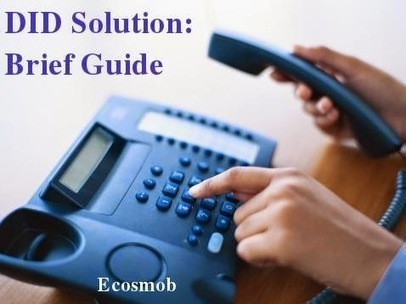 Direct Inward Dialling (#DID) Solution: Brief Guide | Ecosmob | Scoop.it