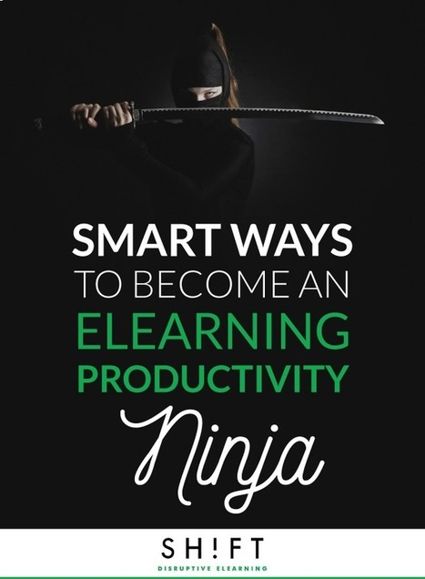 Smart Ways to Become an eLearning Productivity Ninja | Linguagem Virtual | Scoop.it