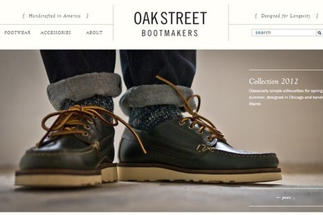 32 Creatively Designed eCommerce Shop Website Layouts | Design, social media and web resources | Scoop.it