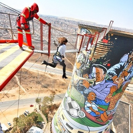 Art and BASE Jumping at South Africa's Orlando... | Digital-News on Scoop.it today | Scoop.it