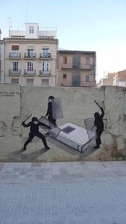 Le street art se met à la page pour des déambulations littéraires | Bibliothèques | Scoop.it