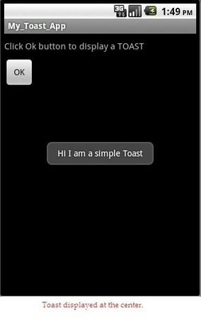 How to create a Toast message in Android? | Android Development for all | Scoop.it