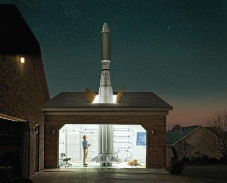 Predictions for 2012: Garage Rocketeers Approach Orbit | Popular Science | FutureChronicles | Scoop.it