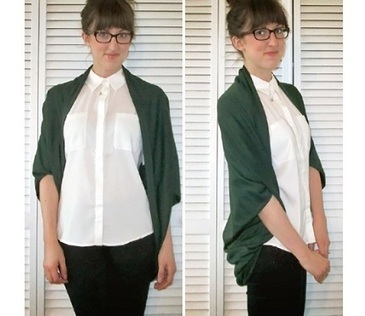 Tutorial: Easy Cocoon Cardigan   refashioned clothing   Scoop.it