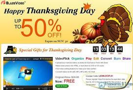 Offre promotionnelle : VideoFlick gratuit (spécial Thanksgiving 2012) ! | Freewares | Scoop.it