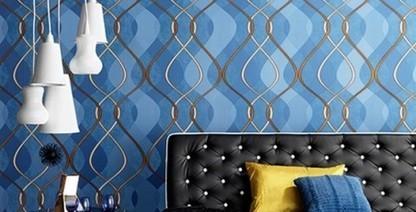 Delon Paris | Le papier peint se met au couleurs ...Bleu... | Papier peint Maroc | Scoop.it