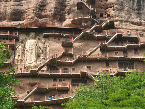 The Dramatic Landscape of China's Gansu Province | AP HUMAN GEOGRAPHY DIGITAL  STUDY: MIKE BUSARELLO | Scoop.it