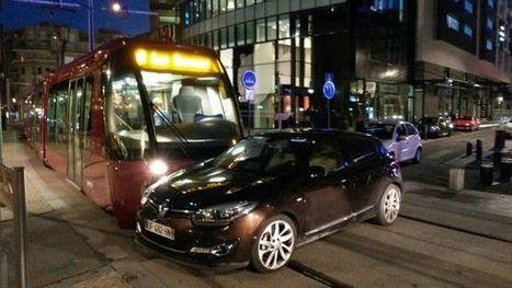 Clermont-Ferrand : La circulation du tram a repris après l'accident avec une voiture [mis à jour] | L'actu des tramways | Scoop.it