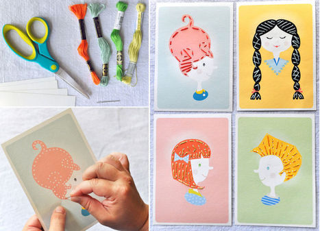 Printable Sewing Cards For Kids | Design | Scoop.it