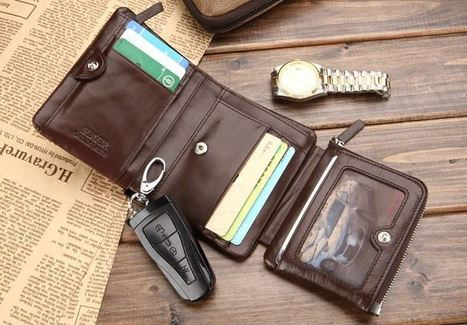 Fagre & Benson folding leather wallet | Apple iPhone and iPad news | Scoop.it