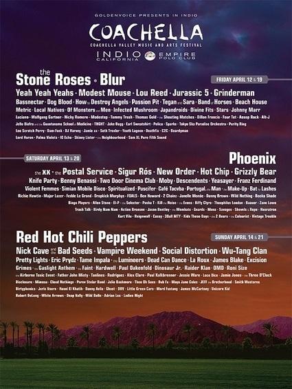 www.tsugi.fr - Coachella lâche son line-up 2013... Non, y'a pas Daft Punk | Music news: musicians, instruments and creative energy | Scoop.it