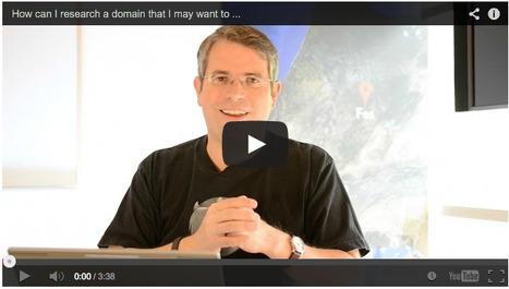4 conseils de Matt Cutts pour savoir si un nom de domaine a été pénalisé par Google dans le passé ? | [SEO] Référencement naturel & e-marketing | Scoop.it